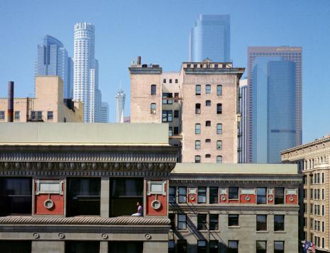 Wim Wenders, Girl in Window, Los Angeles, 1999