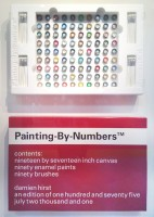 Damien Hirst, Painting By Numbers (Red), 2001