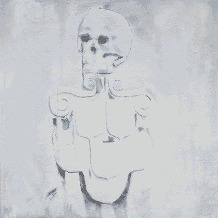 Luc Tuymans, Dead Skull, 2010.