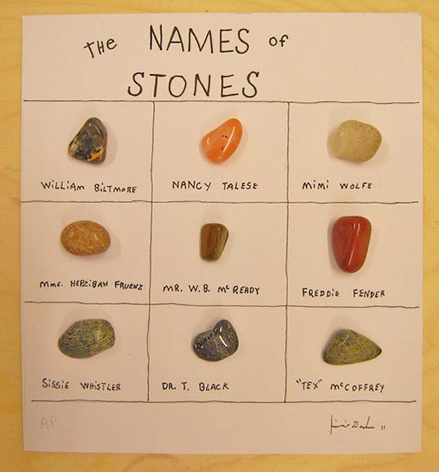 Natural Stone Names : Jimmie durham edition quot the names of stones available