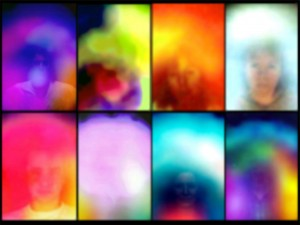 """Susan Hiller - Small study for """"Homage to Marcel Duchamp"""" 2011-2012."""