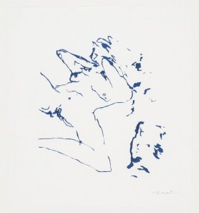 Tracey Emin, Beginning of Me, 2012.