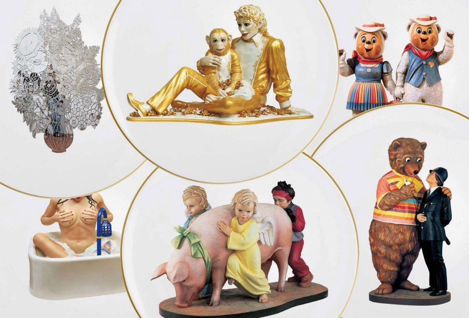 news jeff koons banality series bernardaud 150 years new art editions. Black Bedroom Furniture Sets. Home Design Ideas