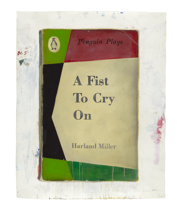 Harland Miller, A Fist to Cry On, 2013.