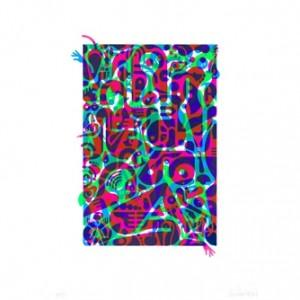 "Ryan McGinness, ""Untitled (Fluorescent Women Parts) 2"", 2014"