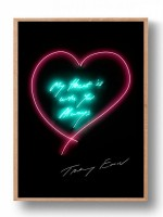 Tracey Emin, My Heart Is With You Always, 2015
