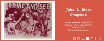 Jake & Dinos Chapman, Come & See (Red), 2014