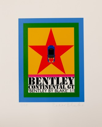 Peter Blake, Bentley by Blake, 2016
