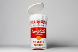 Andy Warhol - Campbell's Soup CAns - Skate decks and packaging