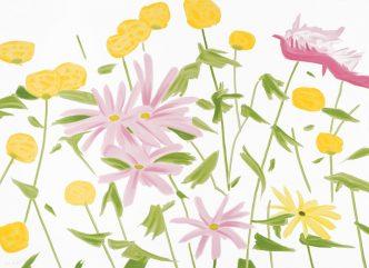 Alex Katz - Spring Flowers - 2017