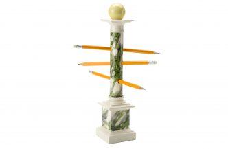 Pablo Bronstein – 'Saint Sebastian' Pencil Holder (Green)