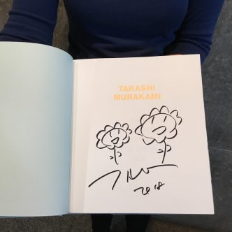 Takashi Murakami - The Octopus Eats Its Own Leg (hand signed)