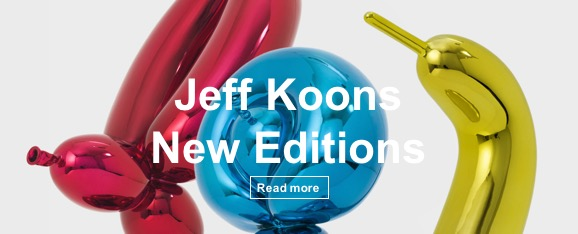 Jeff Koons - Balloon Edition - 2017