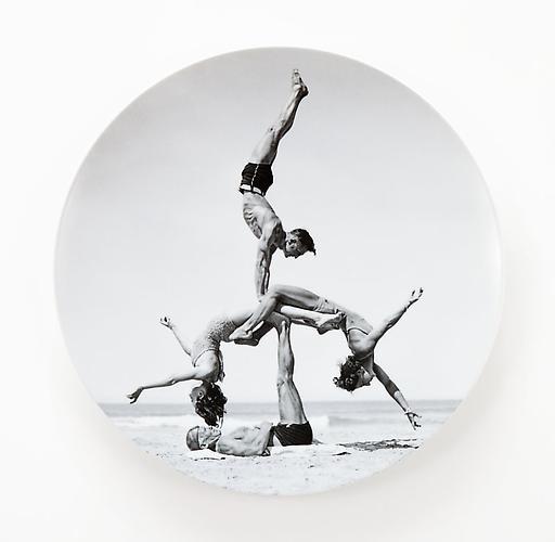Jeff Koons, Bernardaud Limoges Plate, 2011