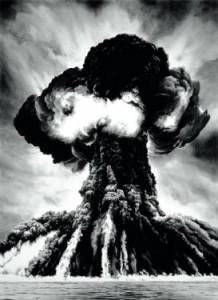 Robert Longo, Russian Bomb (Semipalatinsk), 2003