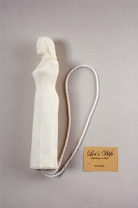 """Mike Kelley, """"Lot's Wife. Salted Soap on a Rope"""", 2007"""