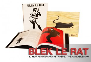 "Blek le Rat, ""Blek le Rat"" the 30 Year Anniversary Retrospective, 2011"