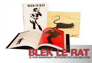 """Blek le Rat, """"Blek le Rat"""" the 30 Year Anniversary Retrospective, 2011"""