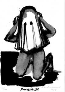 Marlene Dumas, Faceless, 1993