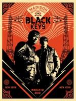 Shepard Fairey - Black Keys Portrait, 2012