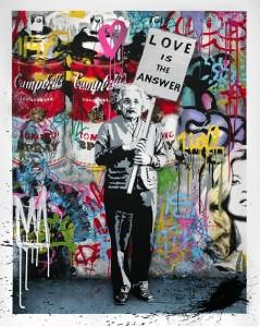 Mr Brainwash, Love is The Answer, 2012