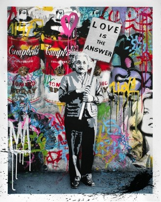 Mr Brainwash, Love is The Answer, 2012