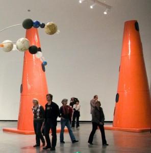 Dennis Oppenheim - Safety Cones, 2010