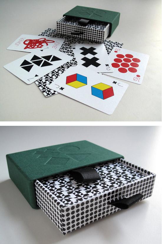 Tauba Auerbach, Playing Cards, 2009