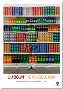 Liu Bolin, The Invisible Man, 3 Posters, 2011