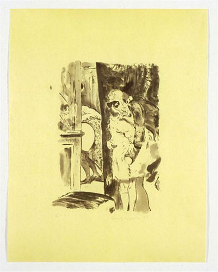 Cecily Brown, Paranoia Man in Cheap Shit Room, 2005