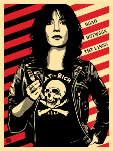 Shepard Fairey, Eat the Rich (Patti Smith), 2012
