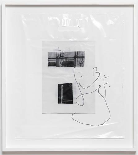 Matias Faldbakken, Untitled (Plastic Bag / B.F.), 2012