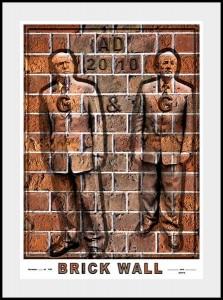 Gilbert & George, Brick Wall, 2010