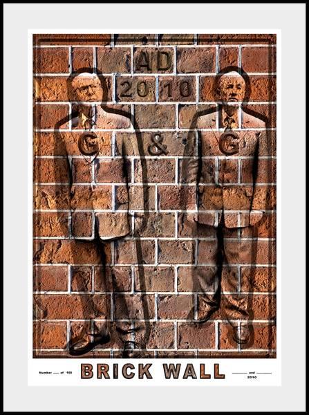 Gilbert & George - Gilbert & George, Brick Wall, 2010