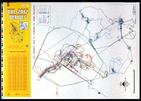 Invader - Signed Map #22 Brussels - 2012
