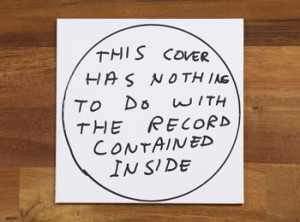 David Shrigley, Edition Fieber record, 2012