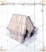 Christo - Print- Wrapped Snoopy House - Available