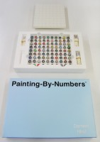 Damien Hirst, Painting By Numbers (Blue), 2001