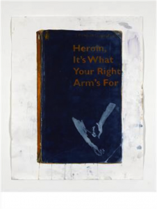 Harland Miller, Heroin, Its What Your Right Arm's For, 2012