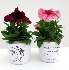 Koons Jeff, Split Rocker (flower pot) , 2012