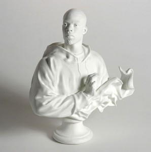 Kehinde Wiley, Bust, Louis XVI, The Sun King