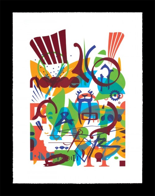Ryan McGinness, Special Release for the Sponsorship REDUX show, 2011