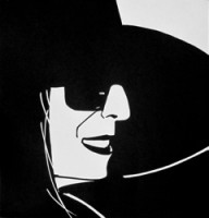 Alex Katz, Black Hat (Ada), 2012
