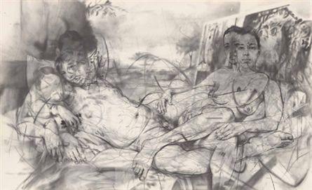 Jenny Saville - Mirror, 2011-12