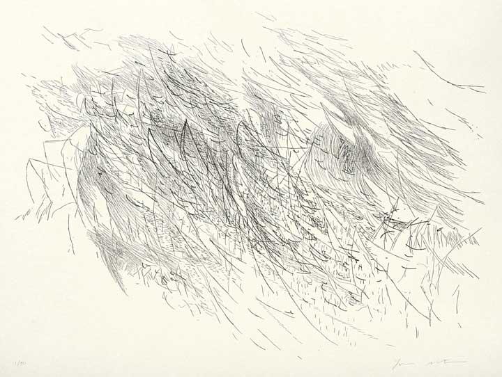 Julie Mehretu, Sapphic Strophe (2), 2011