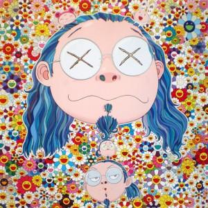 Takashi Murakami - Distressed Artist, 2009.