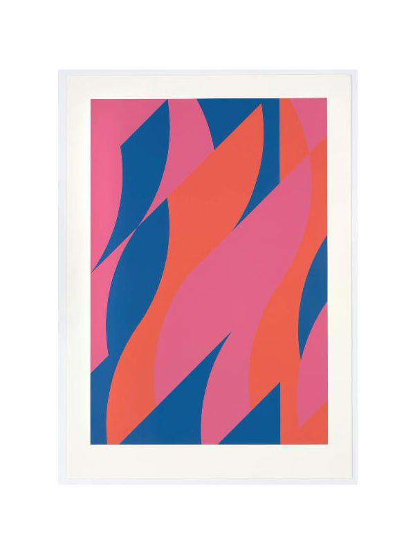 Bridget Riley - Large Fragment 2, 2009