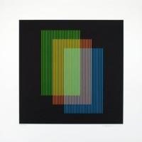 Carlos Cruz-Díez - Color aditivo Ramblas 1963-2011, 2012