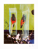 Damien Hirst, Two Parrots, 2012.