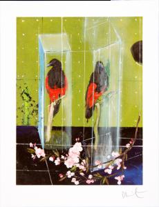 Damien Hirst, Two Parrots, 2012.